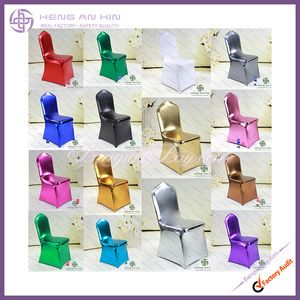 Metallic stretch chair cover
