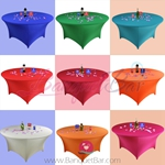 Stretch table covers,spandex tablecloth,Round lycra table cover