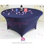 navy-blue Stretch table covers,Spandex tablecloth,Lycra Covers