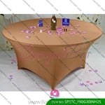 coffee Stretch table covers,Spandex tablecloth,Lycra Covers