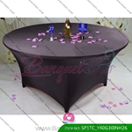 dark-grey Stretch table covers,Spandex tablecloth,Lycra Covers
