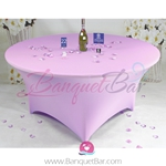 lilac Stretch table covers,Spandex tablecloth,Lycra Covers