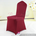 burgundy Stretch chair covers, Wedding Spandex chair cover,Lycra