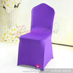 Cadbury-purple Stretch chair covers, Spandex chair cover,Lycra