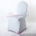 silver-grey Stretch chair covers, Spandex chair cover,Lycra