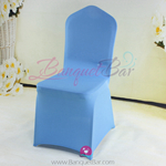 skyblue Stretch chair covers, Spandex chair cover,Lycra