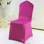 fuchsin Stretch chair covers,Spandex chair cover,Lycra