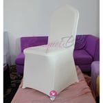 ivory Stretch chair covers,Spandex chair cover,Lycra Covers