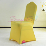 Yellow Stretch chair covers, Yellow Spandex chair cover,Lycra