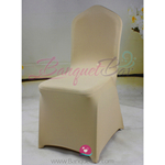 dark-champagne Stretch chair covers,Spandex chair cover,Lycra Co