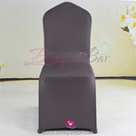 dark-grey Stretch chair covers,Spandex chair cover,Lycra Covers
