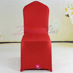 red Stretch chair covers,Bright-Red Spandex chair cover,Lycra