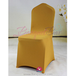 dark-golden Stretch chair covers,Spandex chair cover,Lycra Cover