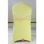 light-yellow Stretch chair covers,Spandex chair cover,Lycra Cove
