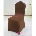 dark coffee Stretch chair covers,Spandex chair cover,Lycra Cover
