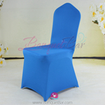 blue Stretch chair covers, blue Spandex chair cover,Lycra