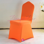 orange Stretch chair covers, Wedding Spandex chair cover,Lycra