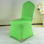 green Stretch chair covers, Wedding Spandex chair cover,Lycra