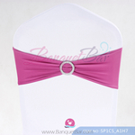 pink Stretch chair sash, Wedding Spandex band,Lycra chair sash