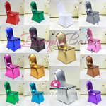 Metallic stretch chair covers-Elastic Metallic chair cover