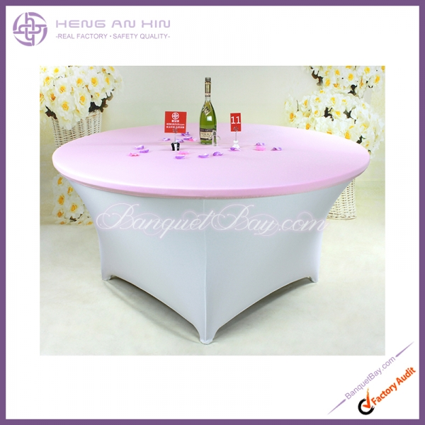 lilac Stretch table topper,Spandex table top,Lycra Covers