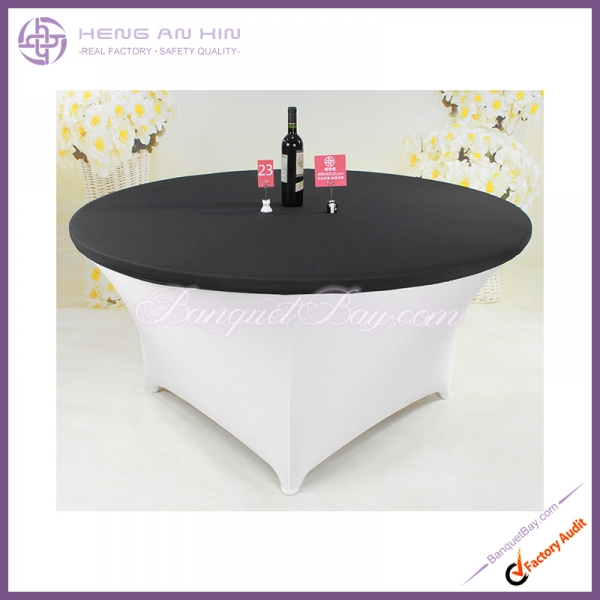 dark-grey Stretch table topper,Spandex table top,Lycra Covers