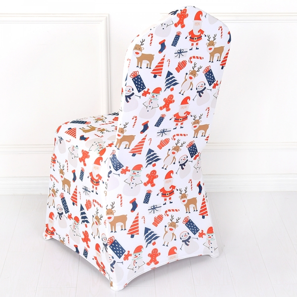 Merry Christmas Stretch Chair Cover