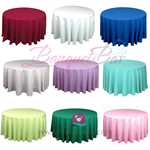 Polyester Tablecloth for wedding,Banquet Polyester Table Covers