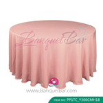 papaya punch Polyester Tablecloth for wedding,Banquet Polyester