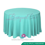 tiffany-blue Polyester Tablecloth for wedding,Banquet Polyester