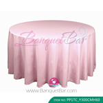 quartz pink Polyester Tablecloth for wedding,Banquet Polyester T