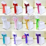 Satin Chair Sash for wedding,Satin Chair Sash for sale