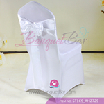 white Satin Chair Sash,Wedding Chair Sashes for sale