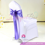 blue purple Satin Chair Sash,Wedding Chair Sashes for sale