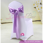light purple Satin Chair Sash,Wedding Chair Sashes for sale