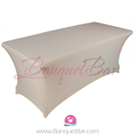 light-champange stretch Rectangle Table Covers