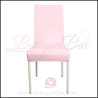light-pink spandex half banquet chair covers, Wedding stretch ly