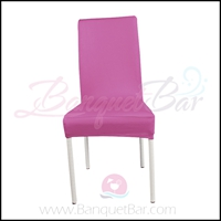 pink spandex half banquet chair covers, Wedding stretch lycra fo