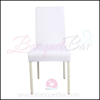white spandex half banquet chair covers, Wedding stretch lycra f