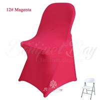 carmine spandex folding chair covers, Wedding stretch lycra for