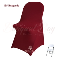 burgundy spandex folding chair covers, Wedding stretch lycra for
