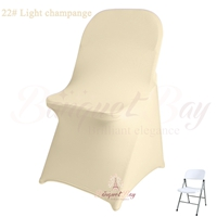 light-champange spandex folding chair covers,stretch lycra for w