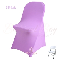 lilac spandex folding chair covers,stretch lycra for wedding ban