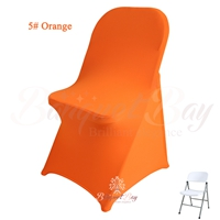orange spandex folding chair covers, Wedding stretch lycra for w