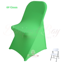 green spandex folding chair covers, Wedding stretch lycra for we