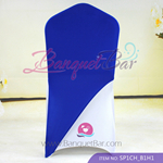 Dark Blue Spandex Chair cap cover Hat/Suit Bag