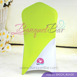 lime-green Spandex Chair cap cover Hat/Suit Bag