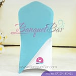 tiffany-blue Spandex Chair cap cover Hat/Suit Bag