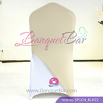 light-champange Spandex Chair cap cover Hat/Suit Bag