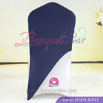 navy-blue Spandex Chair cap cover Hat/Suit Bag